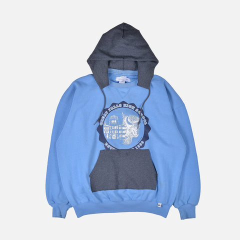 GREAT FALLS RECONSTRUCT HOODIE - 2XL