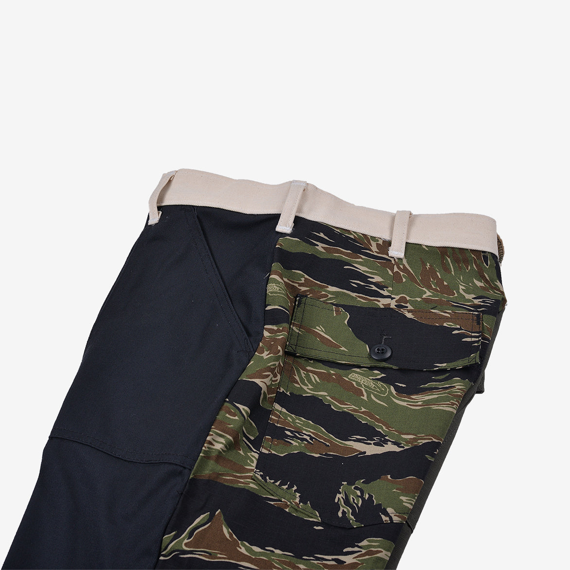 RECONSTRUCT TAPER FATIGUE PANT - WOODLAND / NAVY (4)