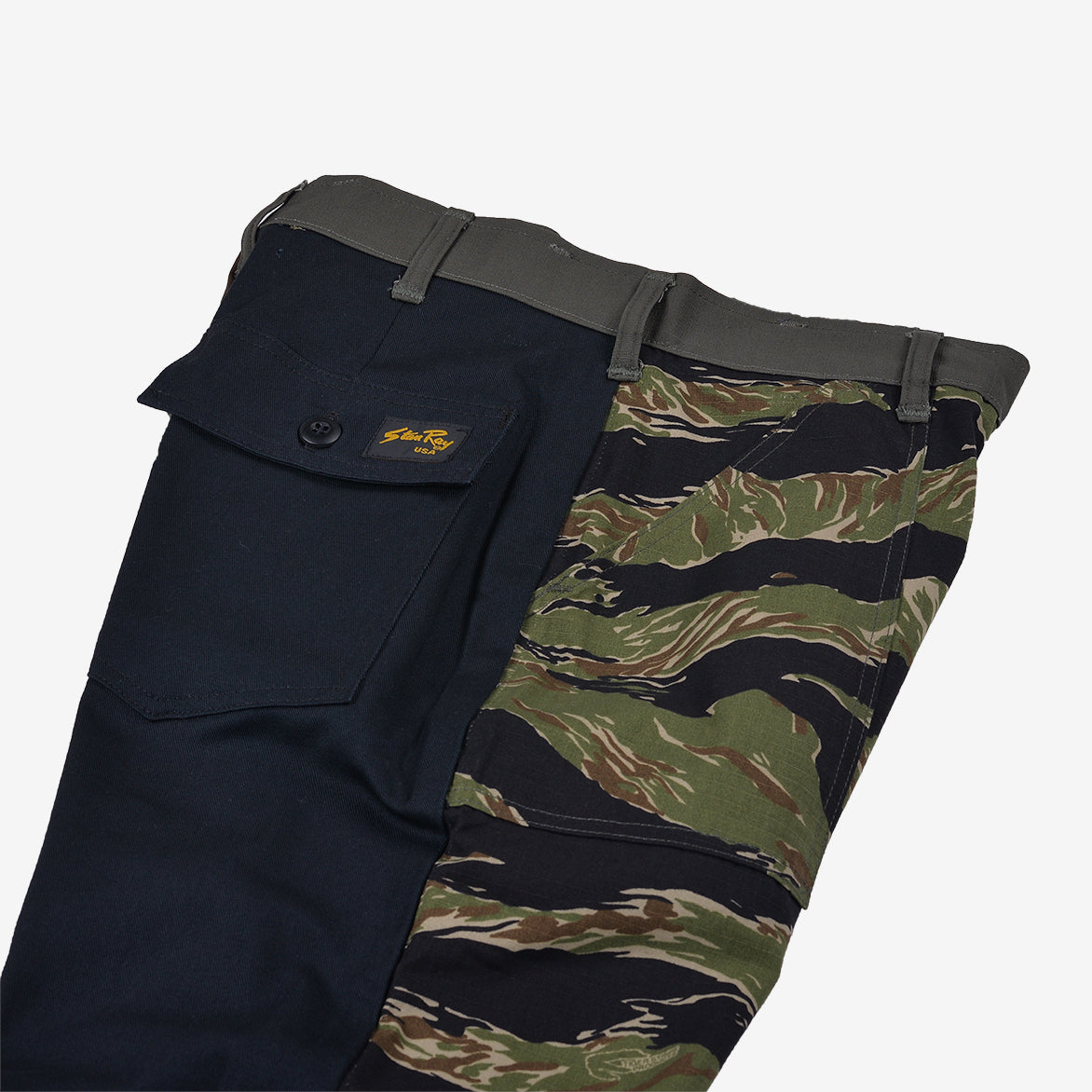 RECONSTRUCT TAPER FATIGUE PANT - TIGER / NATURAL (6)