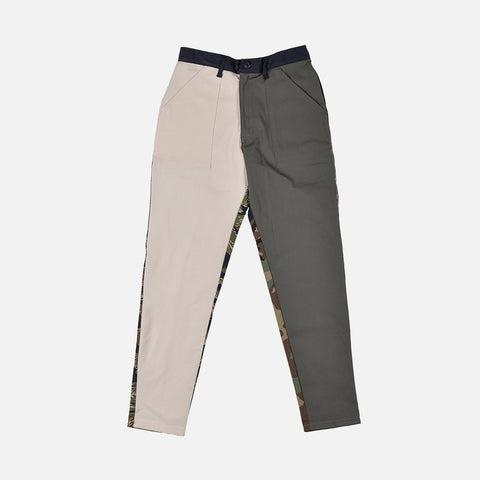 RECONSTRUCT TAPER FATIGUE PANT - NATURAL / OLIVE (5)