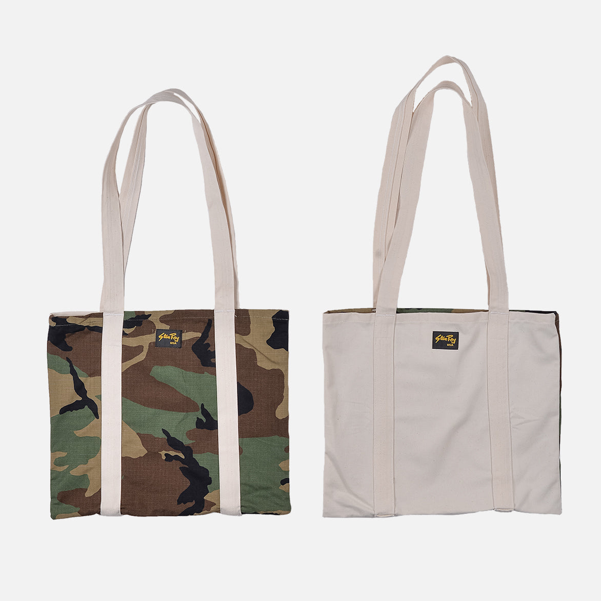 RECONSTRUCT TOTE - NATURAL / WOODLAND