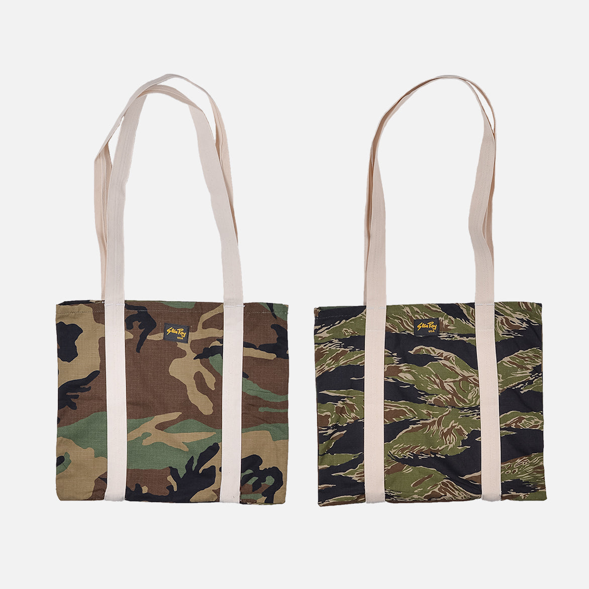 RECONSTRUCT TOTE - WOODLAND / TIGER