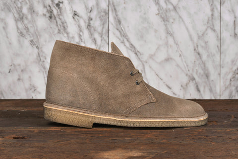 DESERT BOOT - TAUPE SUEDE