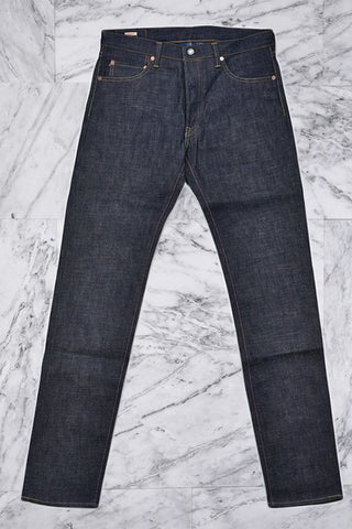 COPPER LABEL SLIM TAPERED FIT JEANS - INDIGO