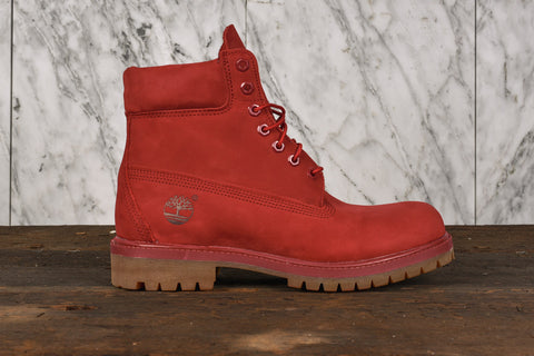 6 IN PREM RED BOOT
