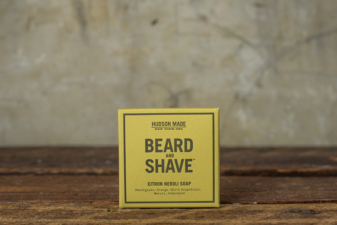 HUDSON MADE BEARD & SHAVE CITRON NEROLI SOAP