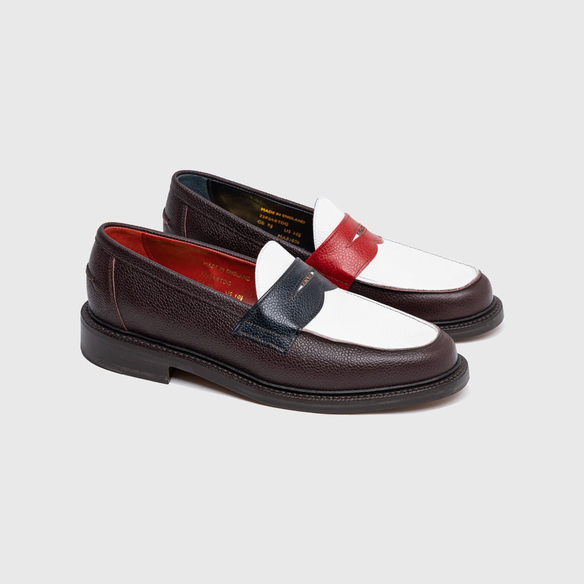 BLACKSTOCK & WEBER X 76ERS COURTSIDE LOAFER - MULTI