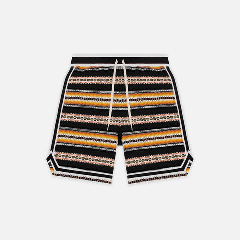 NOGALES BASKETBALL SHORTS - BLACK / MULTI