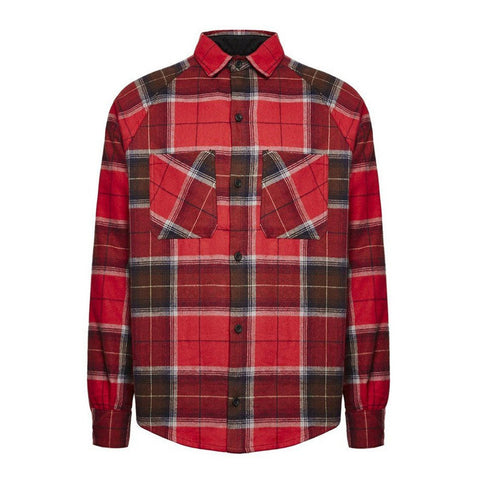FLANNEL SHIRT - OXBLOOD