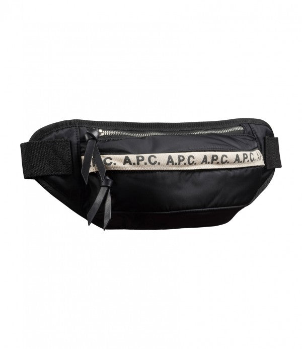 LUCILLE HIP BAG - BLACK