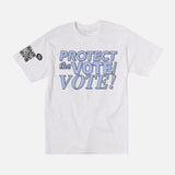 PROTECT THE VOTE TEE - WHITE