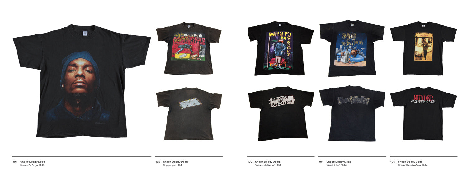 RAP TEES: A COLLECTION OF HIP HOP T-SHIRTS 1980-1999