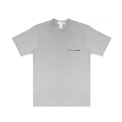COLOR CHEST LOGO TEE - GREY