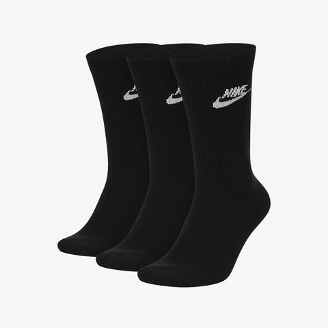 Nike Sportswear CREW SOCKS - BLACK (3-pack)