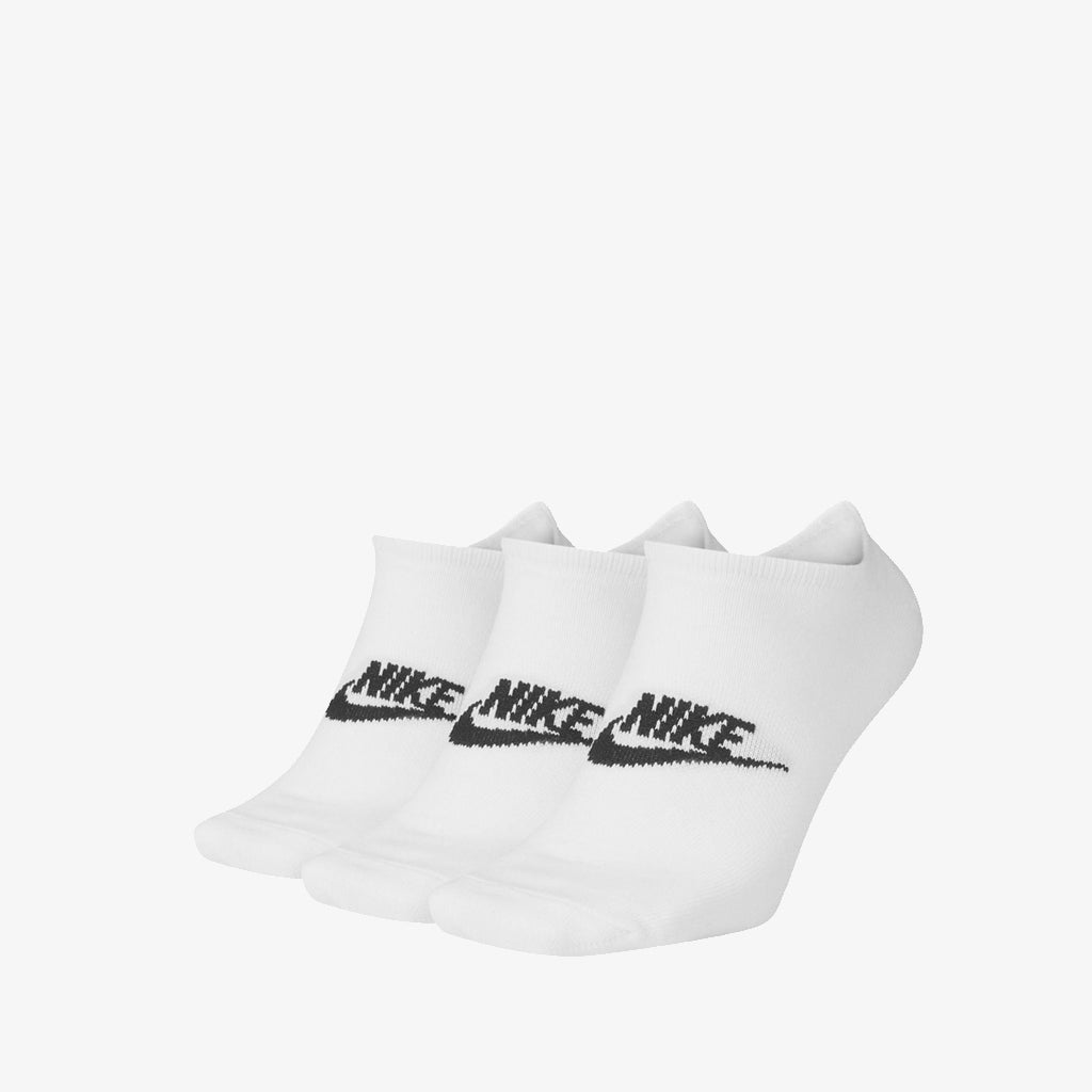 Nike Sportswear NO-SHOW SOCKS - WHITE (3-PACK)