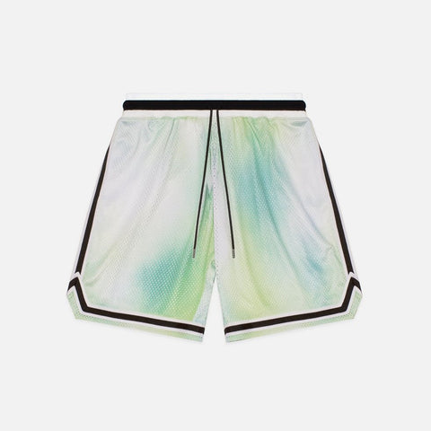 TIE DYE BASKETBALL SHORTS - SOUR SKITTLES
