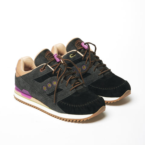"*LAPSTONE & HAMMER + SAUCONY ""TWO RIVERS"" COURAGEOUS MOC - BLACK SAND*"