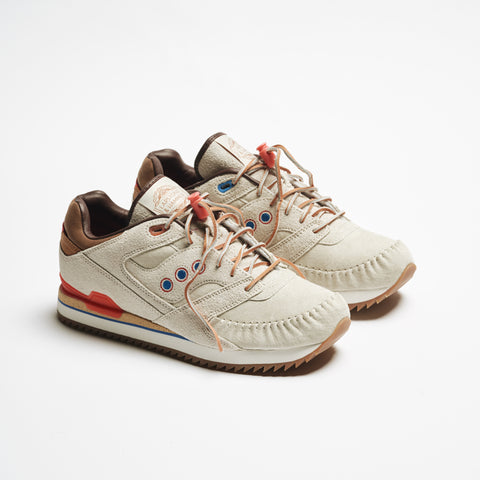 "*LAPSTONE & HAMMER + SAUCONY ""TWO RIVERS"" COURAGEOUS MOC - BONE WHITE*"