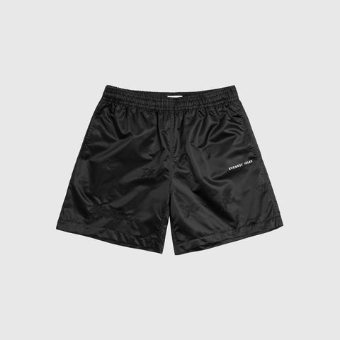 EVEREST ISLES X 76ERS BEACHER SHORTS - BLACK