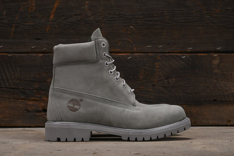 WATERPROOF 6 INCH PREMIUM BOOT - GREY