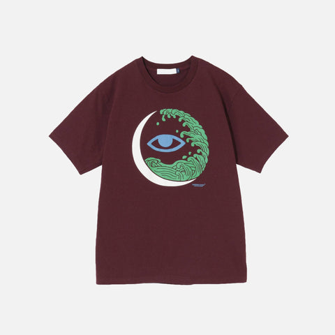 EYE TEE - BORDEAUX