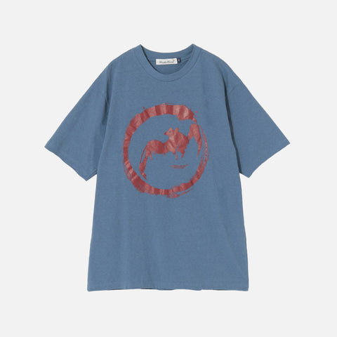 BAT TEE - BLUE GREY