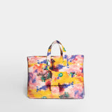 FUTURA PRINT SHOPPER BAG - YELLOW