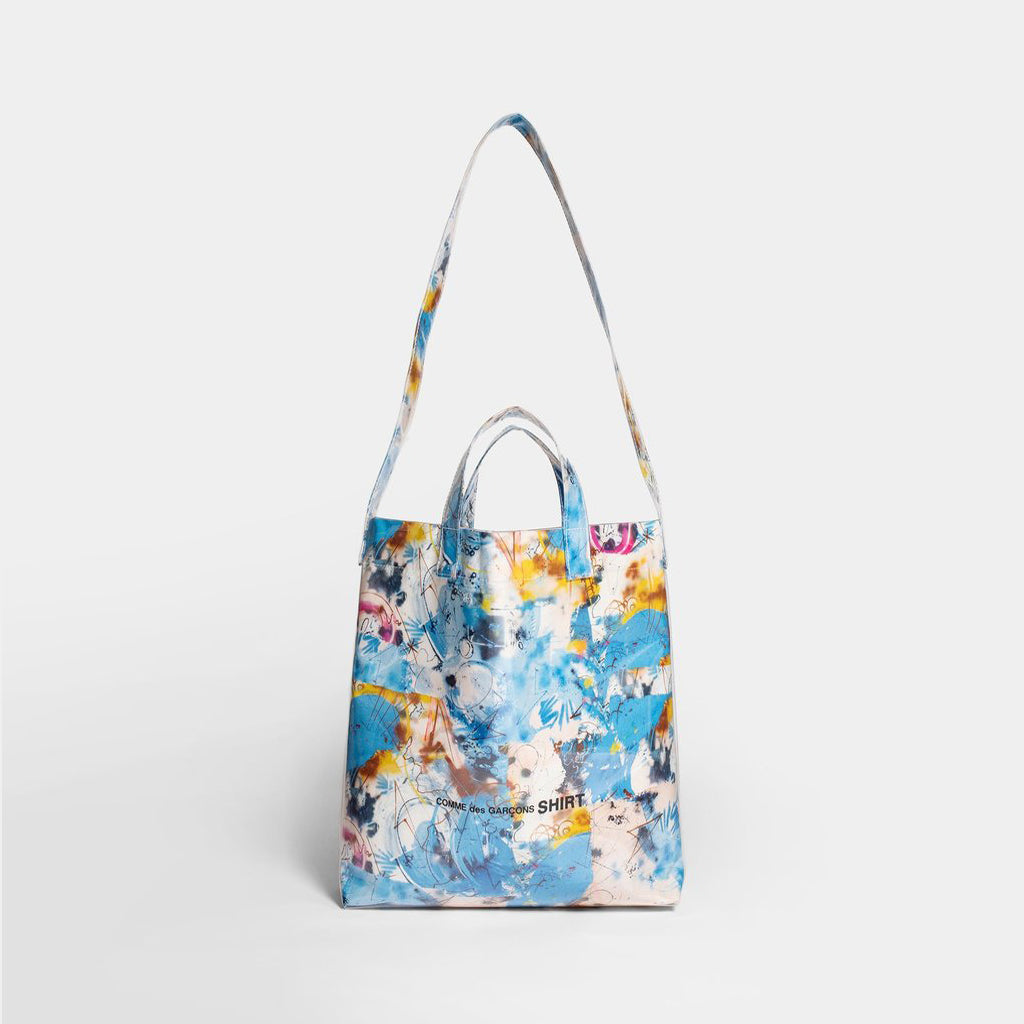FUTURA PRINT TOTE BAG - BLUE