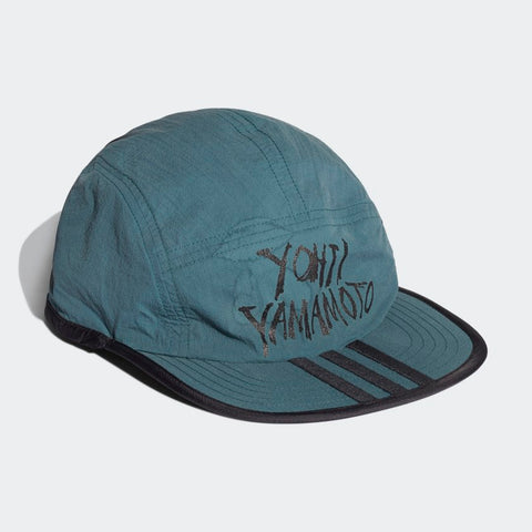 Y-3 REVERS CAP - BLACK / PETROL GREEN