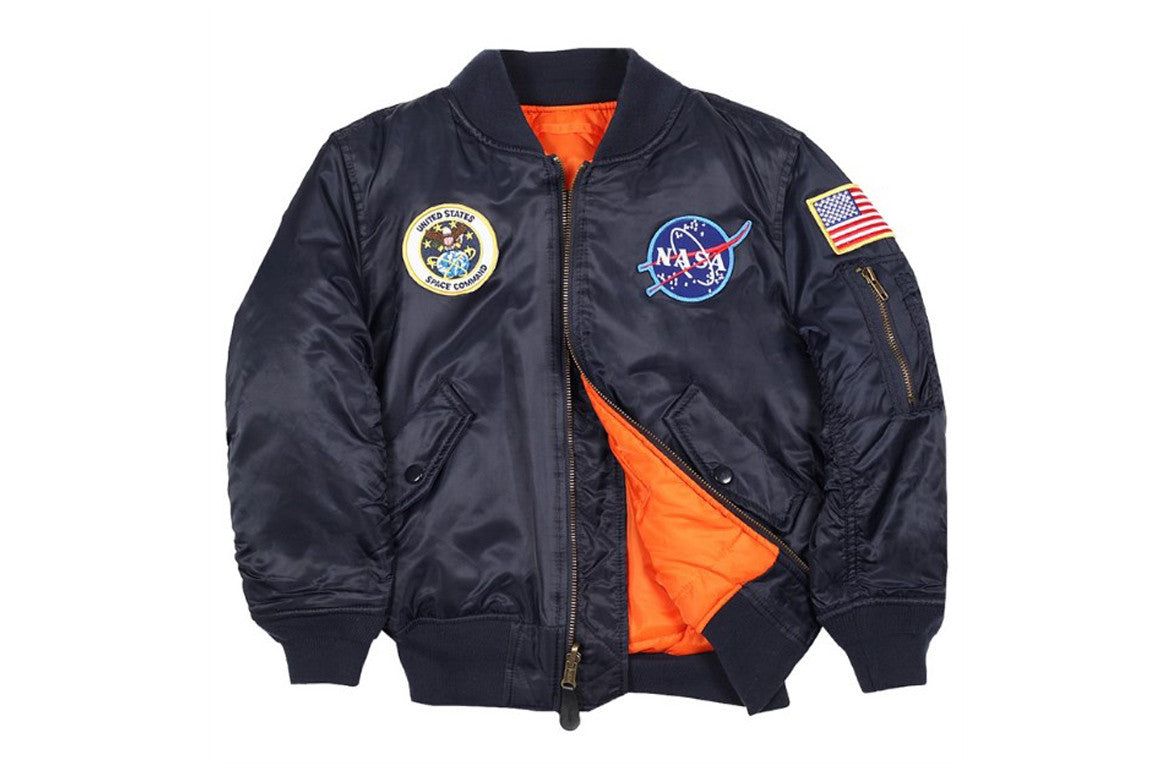 YOUTH NASA MA-1 JACKET