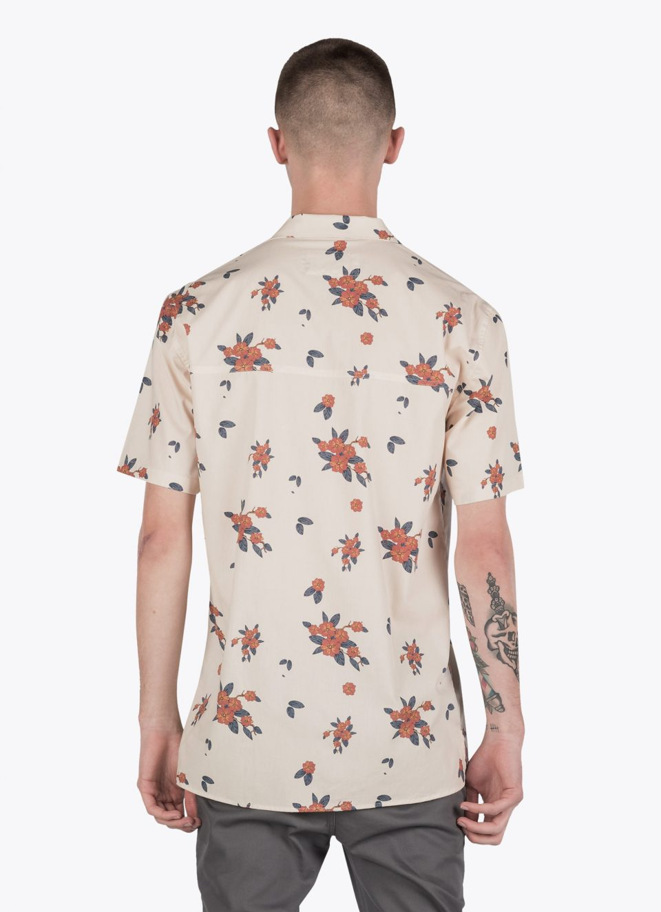 GALLARDIA SS SHIRT - NATURAL