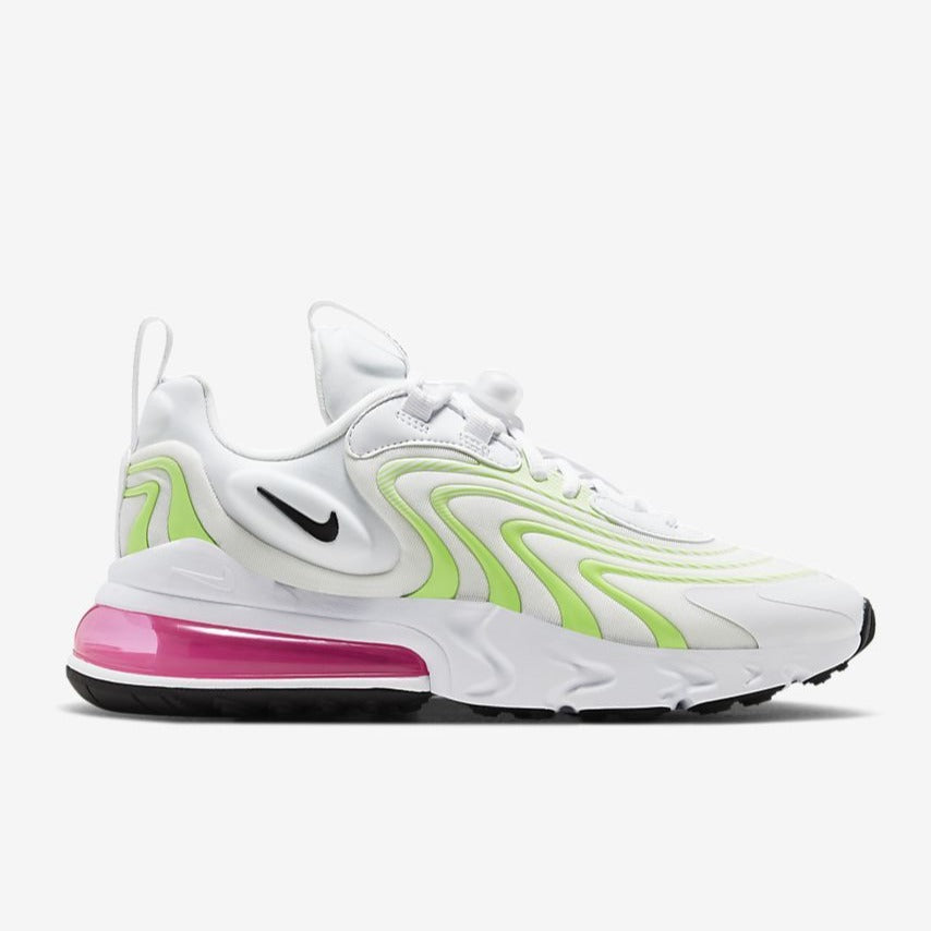 Wmns Air Max 270 React Eng White Ghost Green