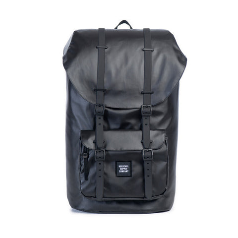 LITTLE AMERICAN BACKPACK - BLACK POLY