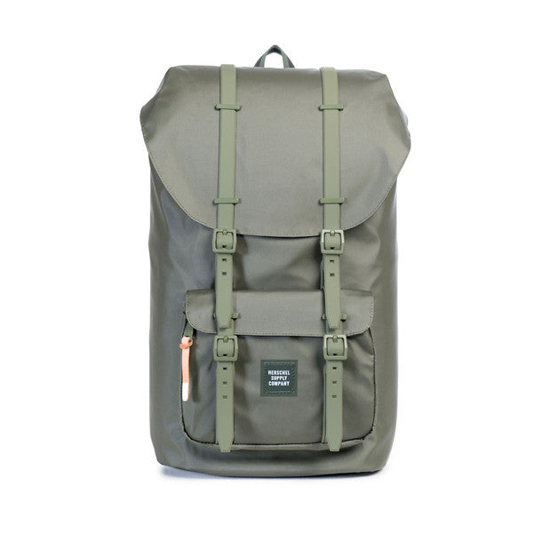 LITTLE AMERICA BACKPACK - GREEN LICHEN POLY