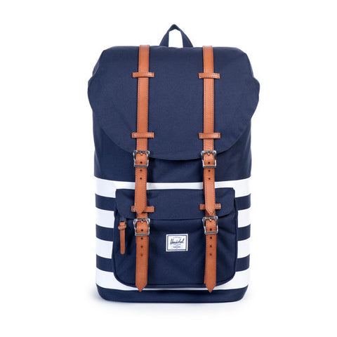 LITTLE AMERICA BACKPACK - PEACOAT OFFSET