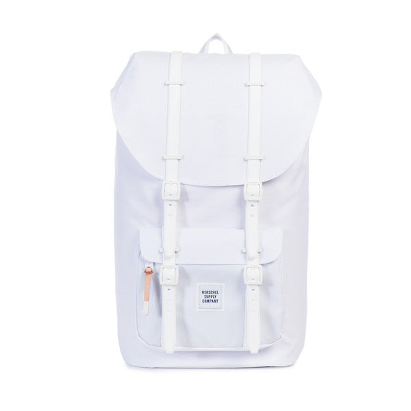 LITTLE AMERICA BACKPACK - WHITE POLY