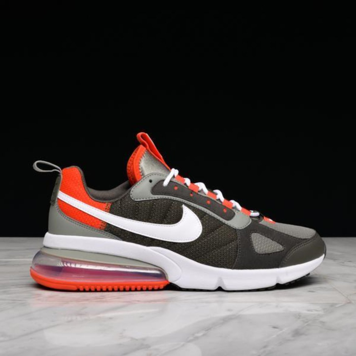 new arrival 4c38a fc9dd AIR MAX 270 FUTURA - DARK STUCCO / NEWSPRINT