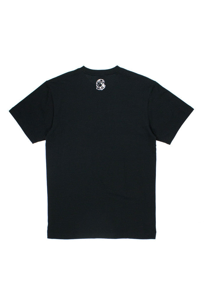 TOPOGRAPHIC ARCH LOGO T-SHIRT - BLACK