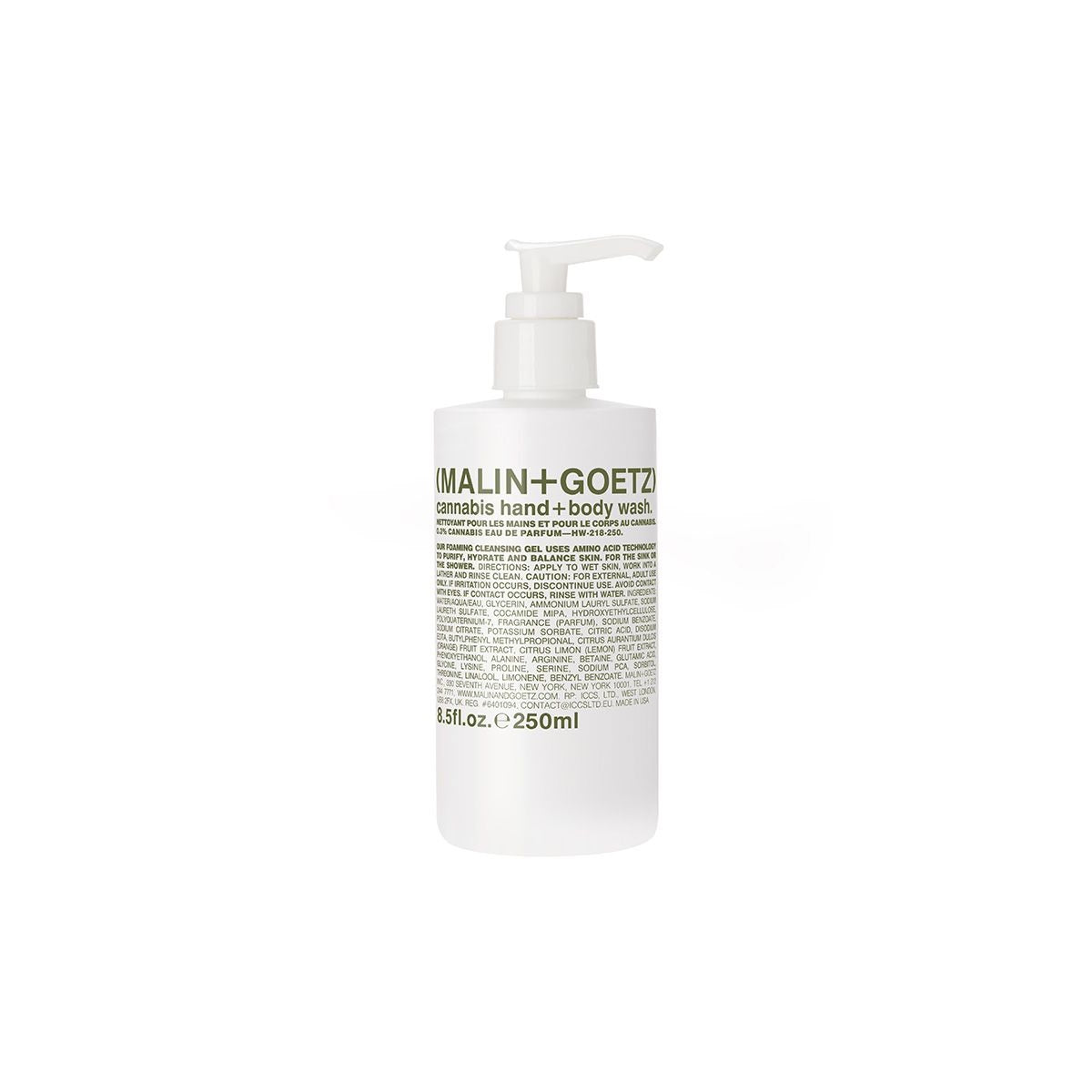 CANNABIS HAND+BODY WASH