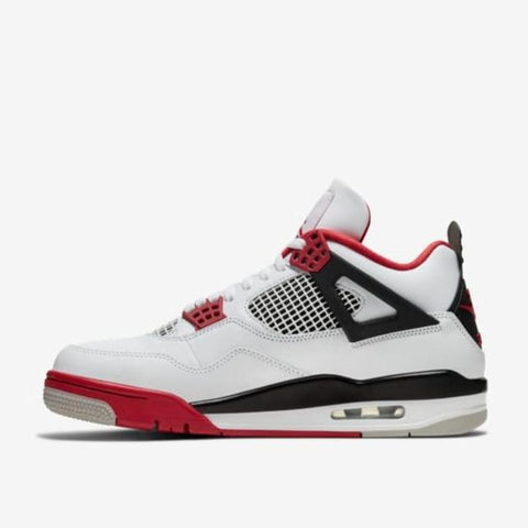 "AIR JORDAN 4 RETRO (GS) ""FIRE RED"""