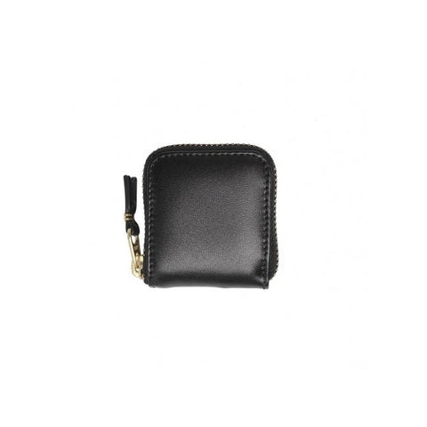 CLASSIC LEATHER LINE WALLET - BLACK