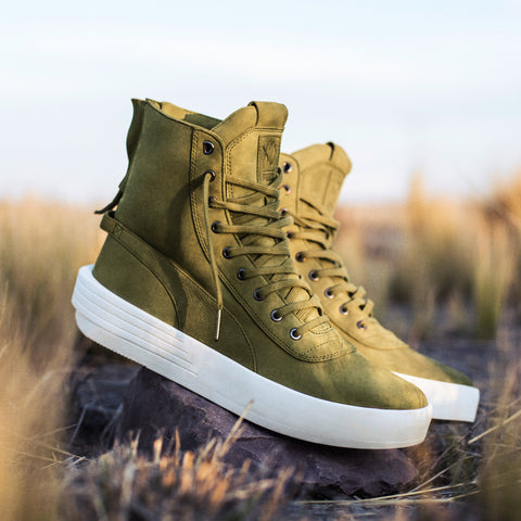 PUMA x XO PARALLEL - GREEN OLIVE