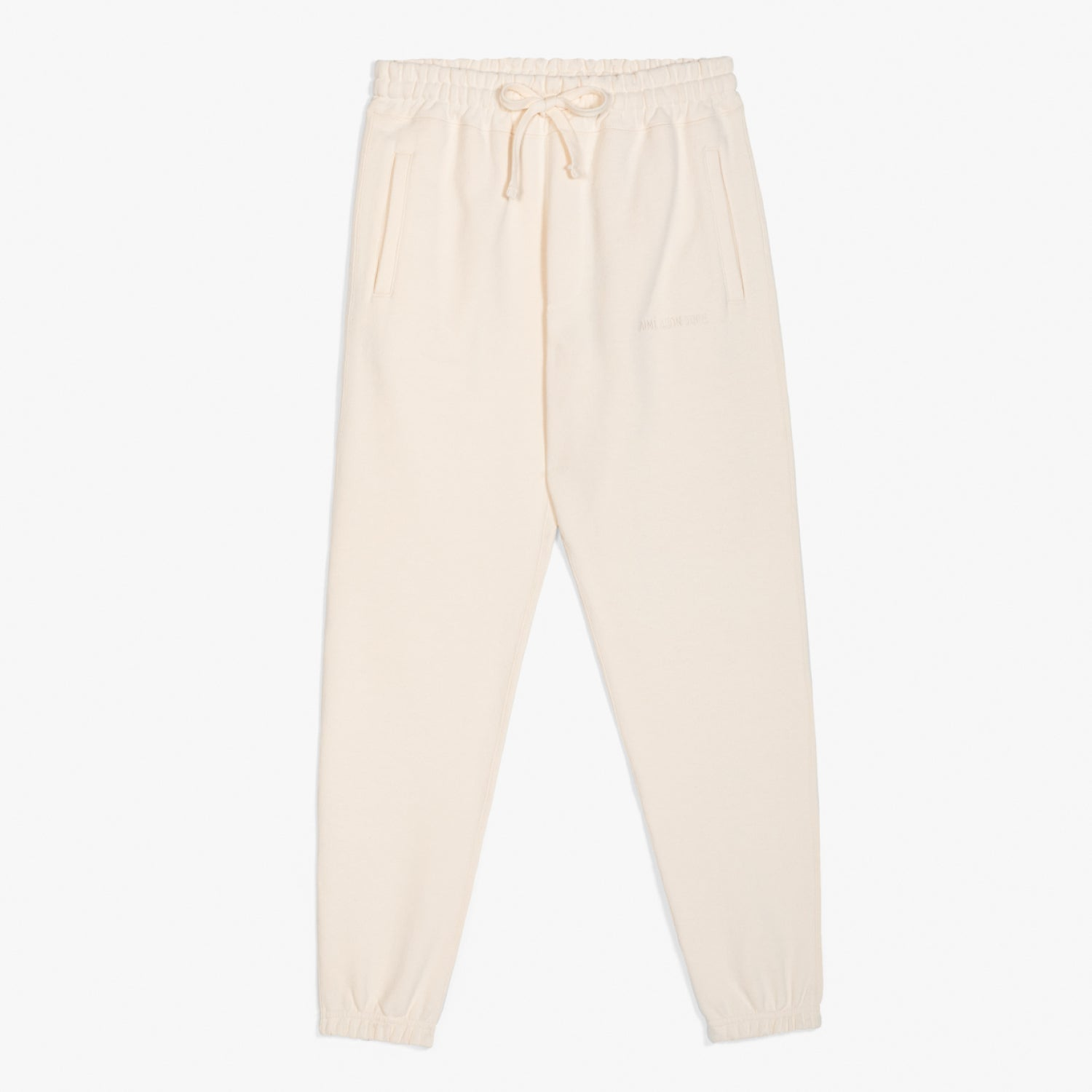 FRENCH TERRY SWEAT PANTS - CREAM