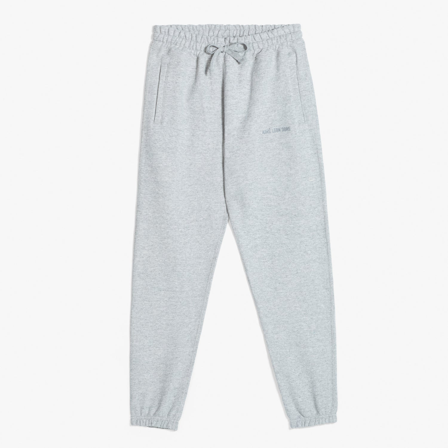 FRENCH TERRY SWEAT PANTS - GREY