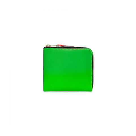 SUPER FLUO WALLET - GREEN / ORANGE