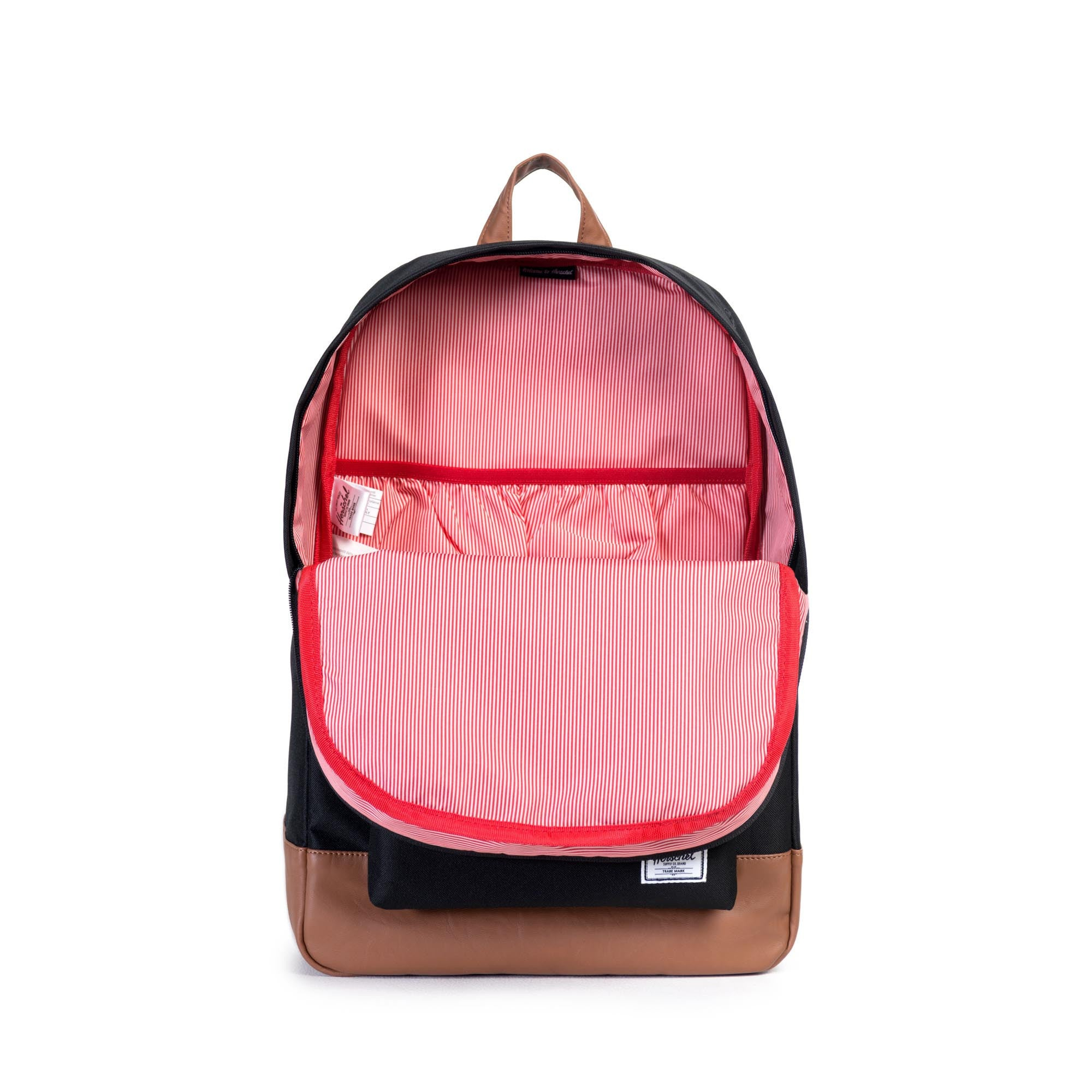 HERITAGE BACKPACK - BLACK / TAN