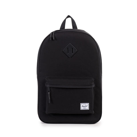 HERITAGE BACKPACK - BLACK CANVAS