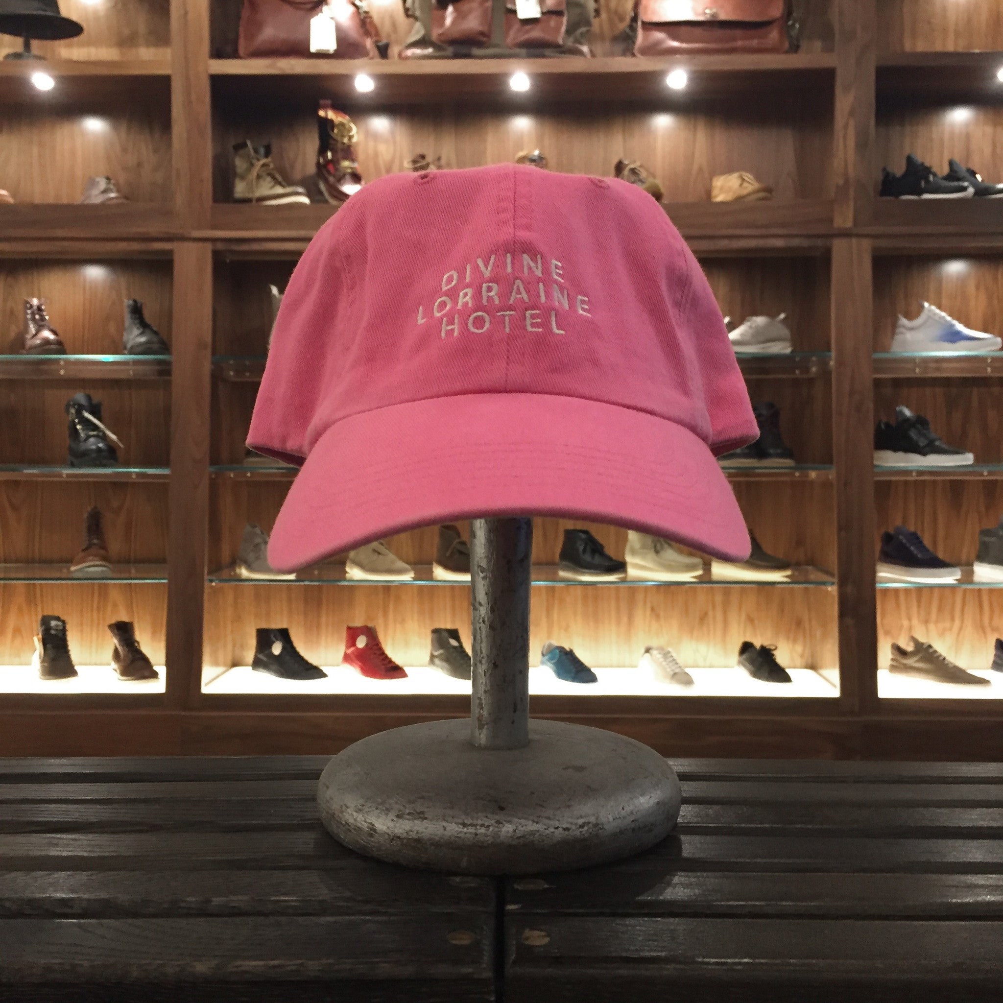 DIVINE POLO HAT - PINK