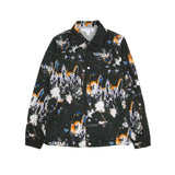 FUTURA COACH JACKET - BLACK