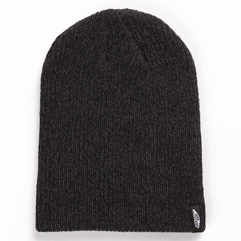 MISMOEDIG BEANIE - BLACK HEATHER